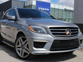2014 Mercedes-Benz M-Class ML63 AMG Low KM 4Matic