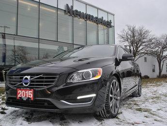 2015 Volvo S60 T6 PLATINUM CLIMATE PKG.