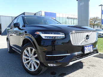 2016 Volvo XC90 T6 Inscription 160KM Warranty Climate Vision Conv.