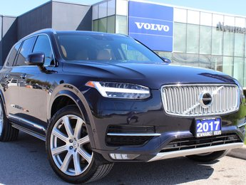 2017 Volvo XC90 T6 Inscription 160KM Warranty Vision Climate Conv.
