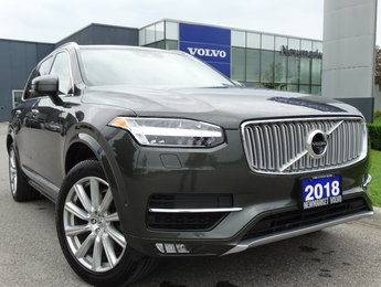 2018 Volvo XC90 T6 Inscription 160KM Warranty Vision Conv. Climate