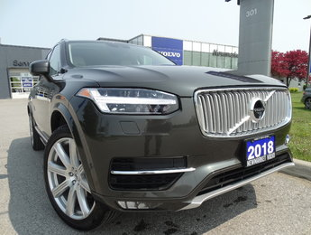 2018 Volvo XC90 T6 Inscription Climate Vision Conv. 160KM Warranty