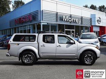 Used 2016 Nissan Frontier Crew Cab Pro 4x Leather Package Canopy