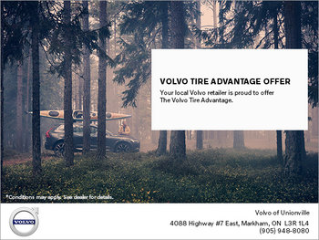 Volvo Tire Advantage Offer