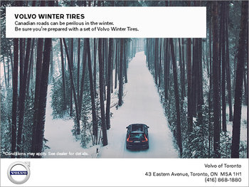 Volvo Winter Tire Offer