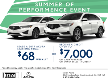 The Acura Summer of Performance Event