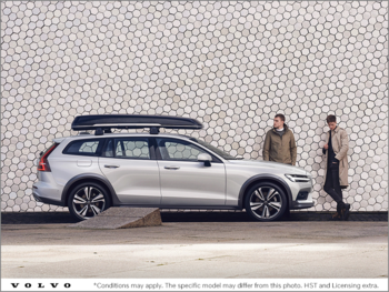 The 2019 V60 Cross Country