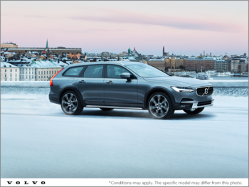The new 2019 V90 Cross Country