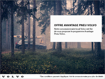 Avantage pneu Volvo