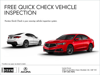 Free Quick Check Vehicle Inspection