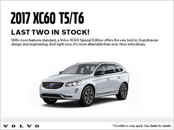 2017 XC60 T5/T6