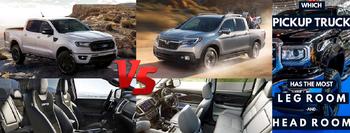 2019 Honda Ridgeline vs 2019 Ford Ranger