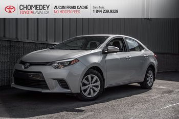 Toyota Corolla LE automatique 2015