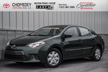 Toyota Corolla LE AUTOMATIQUE FULL 2015
