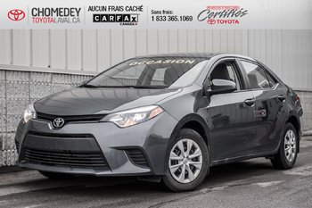 2016 Toyota Corolla CE AUTOMATIQUE  AIR CONDITIONNE FULL