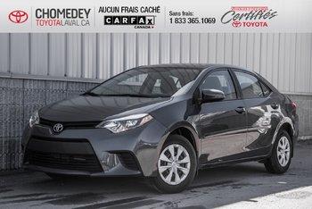 Toyota Corolla Ce 2016