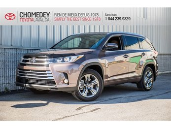 Toyota Highlander Limited 7 PASSAGERS AWD 2018