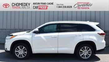 Toyota Highlander XLE, CUIR, TOIT OUVRANT, NAVIGATION, 8 PASSAGERS 2015