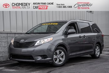 Toyota Sienna 7 PASSAGERS AUTOMATIQUE MAGS 2017