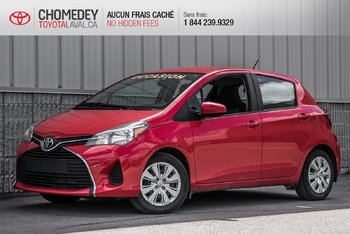 Toyota Yaris HATCHBACK 5 PTES LE AUTOMATIQUE 2015