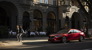 2018 Mazda6: Yup, There's a Turbo in There Now