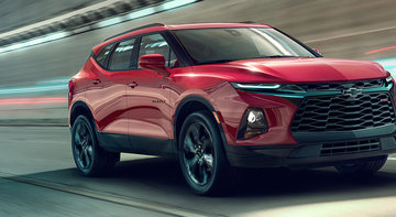 The 2019 Chevrolet Blazer