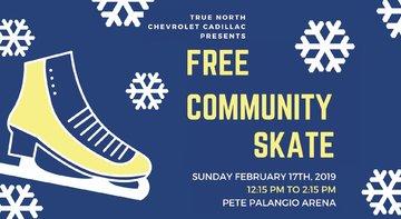 Free Community Skate!
