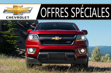 Promotions Chevrolet Camions