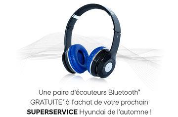 Écouteur Gratuit au SUPERSERVICE HYUNDAI