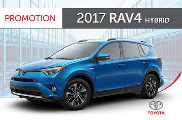 2017 RAV4 Hybrid LE+