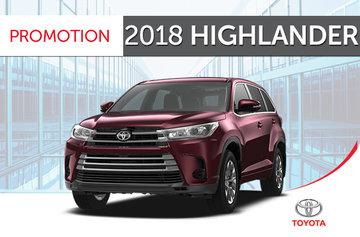 2018 Highlander LE V6 FWD