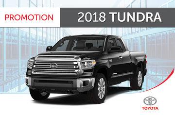 2018 Tundra 4x4 Crewmax