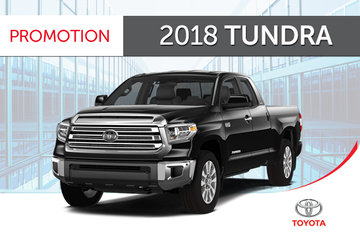 Toyota 2018 Tundra 4X4 Crewmax with TRD Sport Pkg