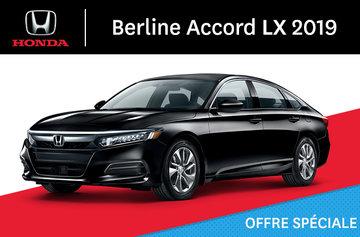 Honda Accord Berline LX CVT 2019
