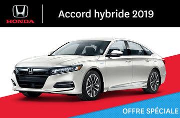 Honda Accord hybride E-CVT 2019
