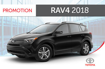 Toyota RAV4 AWD LE 2018
