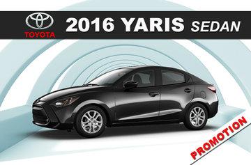 2016 Yaris Sedan MT