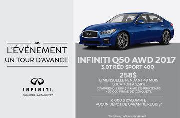 Infiniti Q50 AWD 2017 Berline