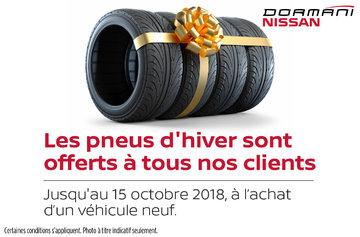 Promotion pneus d'hiver