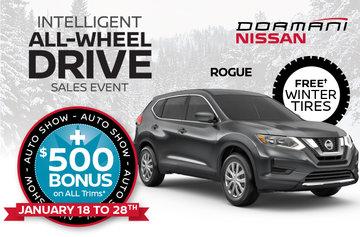 Rogue Auto Show Bonus