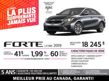 Forte 2019 - Promotion