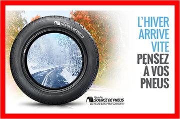 L'hiver arrive vite pensez à vos pneus