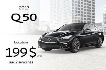 Promotion Q50