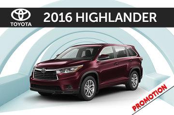 2016 Highlander