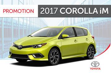 2017 Corolla iM