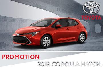 2019 Corolla Hatchback XSE CVT