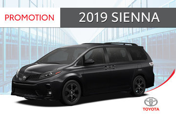 2019 Sienna SE V6 8-PASS