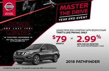 Get the 2018 Nissan Pathfinder