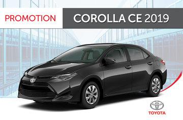Corolla CE CVT 2019