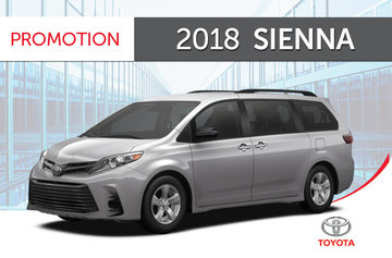 2018 Sienna XLE<br>AWD 7-PASS 8A